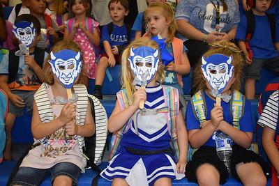 Pep Rally: Blue Devils vs. Cumby