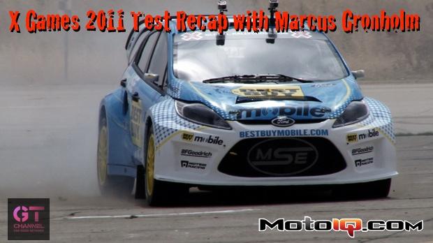 X Games 2011 Test Recap with Marcus Gronholm