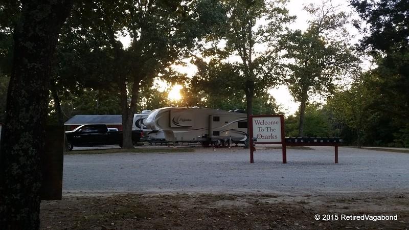 Camp in the Ozarks