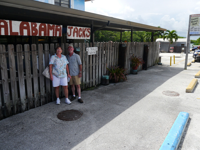 Lunch stop at Alabama Jacks - as seen on Guy Fieri's Diners, Drive-ins and Dives, Key Largo, Florida