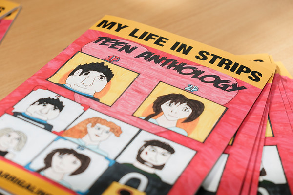 My Life in Strips Launch