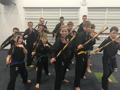 Stick and Knife Defence Course April 2018