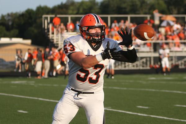 02 Football:  Wheelersburg at Oak Hill 2014