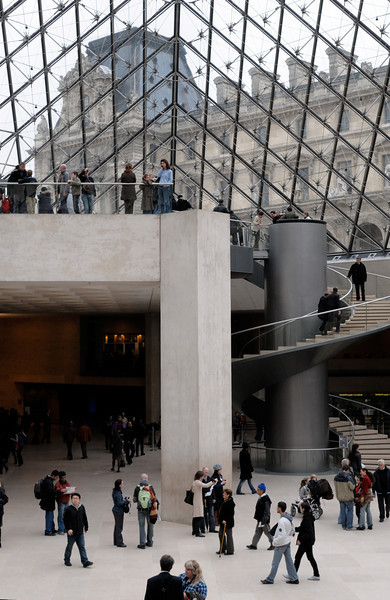 The Louvre.