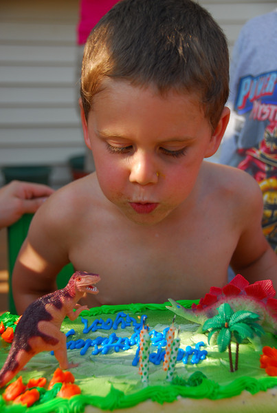 July 26, 2008 - Ryan Taubers 4th Birthday
