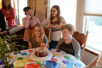 Connor and Carly's 13th B-Day party
