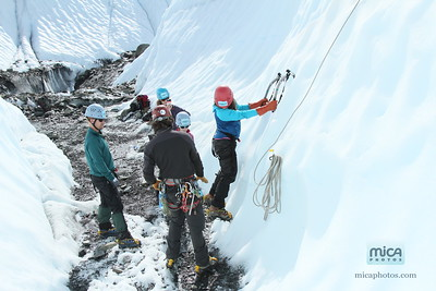 August 26 Ice Climb with Scott