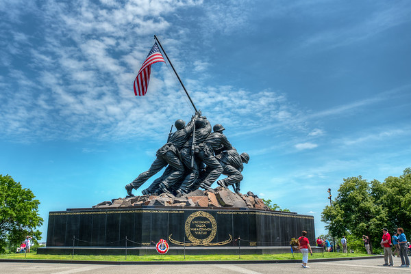 Iwo Jima, Air Force Memorial May 2018