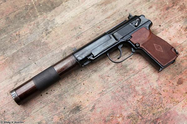 PB 6P9, APB and PSS silent pistols