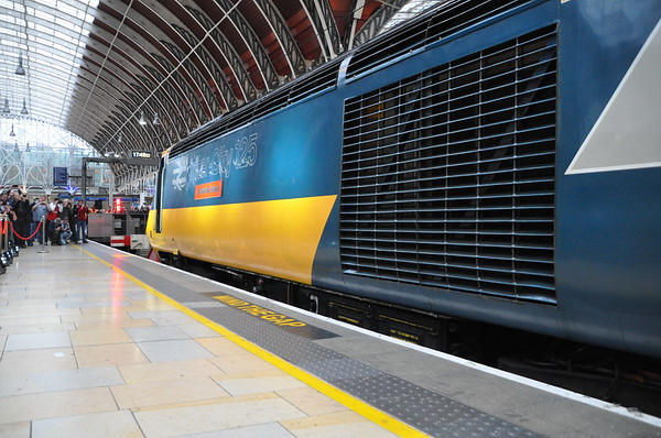 GWR: HST 125 Finale. Saturday 18th May 2019