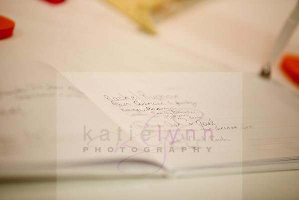 Wymer wedding reception