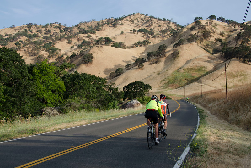CA 128: heading into the Vaca Hills