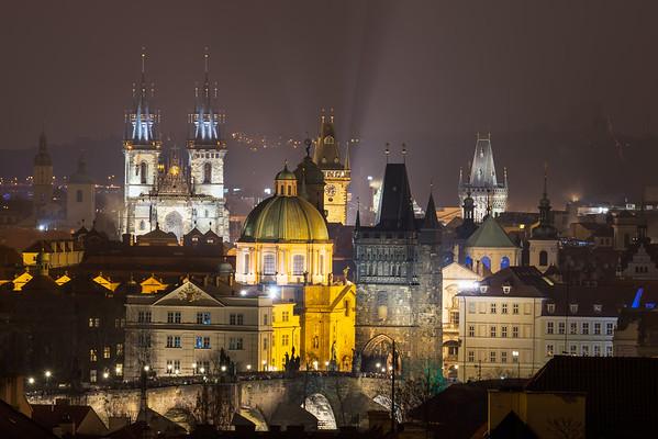 160101_Pražský Novoroční ohňostroj