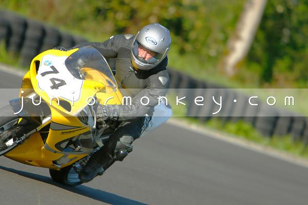#74 - Yellow GSXR