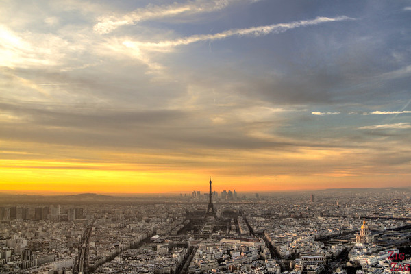 View Paris From Montparnasse Tower 4