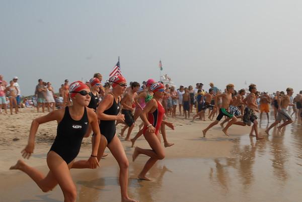 Jr. Lifeguard Competition 2007-Long Distance Swim