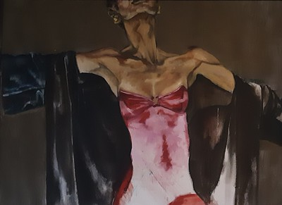 """""""Freedom"""" (oil on canvas) by Charlene Avery"""