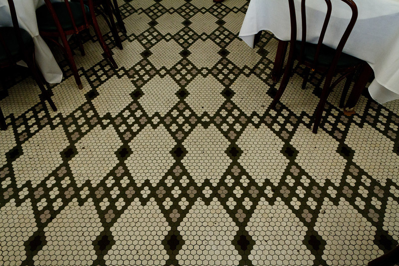 Arnaud's Tile Floor
