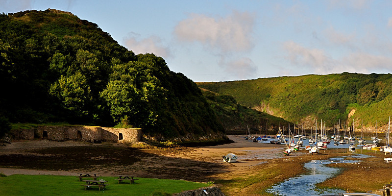 Early Morning at Solva