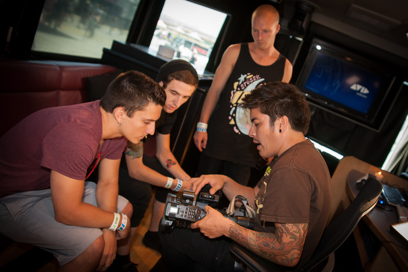 2012_06_21, Irvine, CA, Avid, Vans Warped Tour, Music Festival, Sony, lb.org