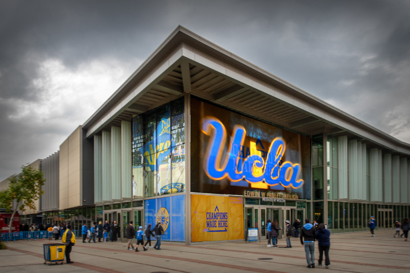 January 5 - Reimagined Pauley Pavilion UCLA, on a rainy and victorious day!.jpg
