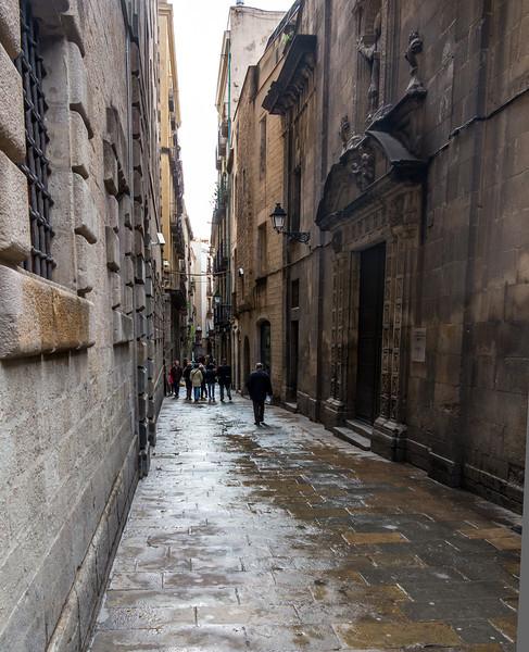 Barcelona, Barri Gotic.