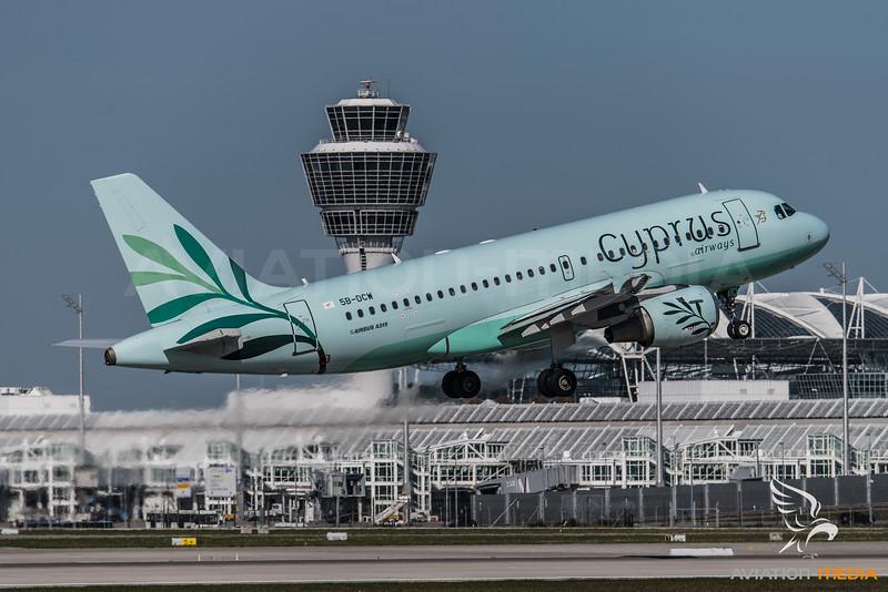 Cyprus / Airbus A319-114 / 5B-DCW