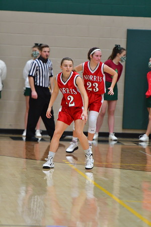 Freshman Girls Basketball vs Pius