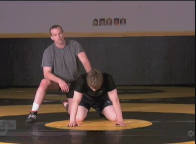Jam Cradle by forcing sit out position