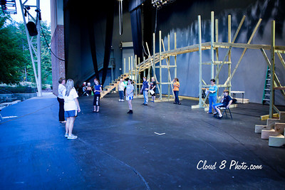 Oliver Rehearsal - Cobb Community Theatre