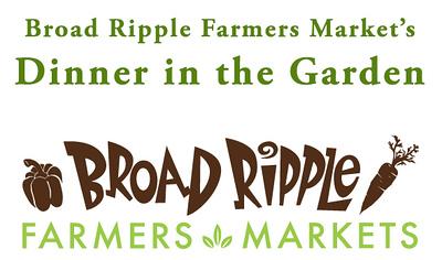 Broad Ripple Farmers Market's Dinner in the Garden 2018