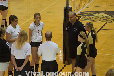 Volleyball Fauquier at Freedom 9.12.12 ( by Bob Landis)