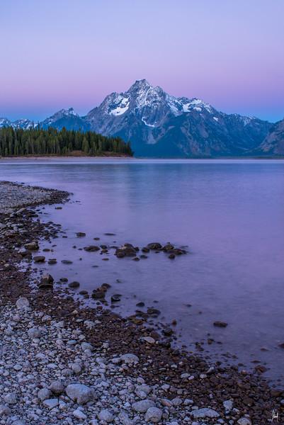 Coulter Bay Grand Teton National Park, Wyoming