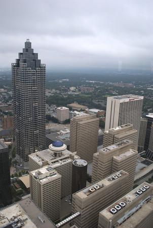 2012/08/04 - Georgia Tech, Centennial Olympic Park, Atlanta Skyline