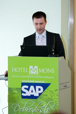 SAP-jeva delavnica »Optimizirajte IT – povečajte prihranke«, 25. marec 2010, Ljubljana