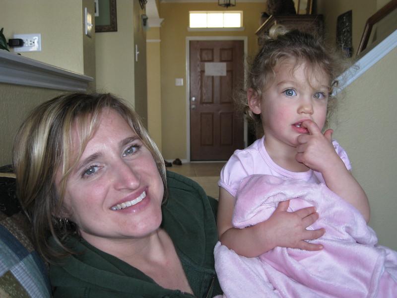 Gab and 'little Gab' - Emily