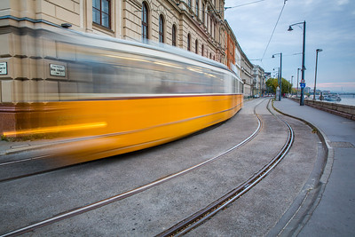 Budapest The trams
