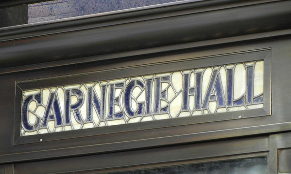 A visit to Carnege Hall and Rockefeller Center