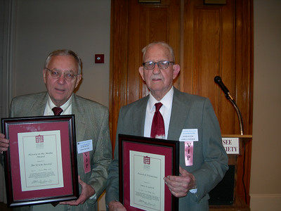 Historical Society Awards - May 2006