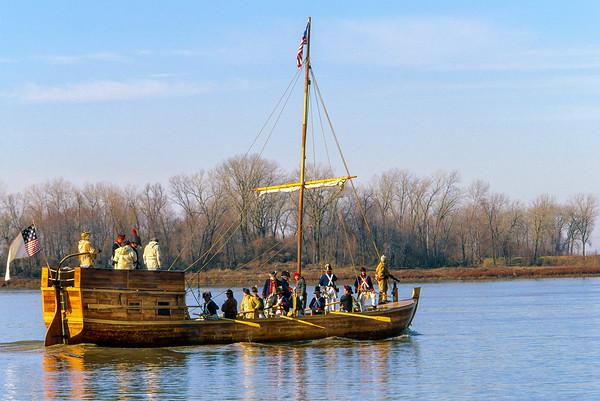 Lewis & Clark Keelboat   (in progress)