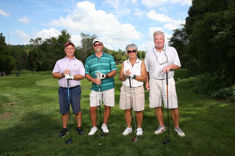 Golf Scramble Group Shots -  September 2018