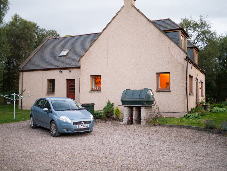 Our house for our trip to Speyside