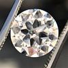 3.01ct Old European Cut Diamond GIA G SI1 1