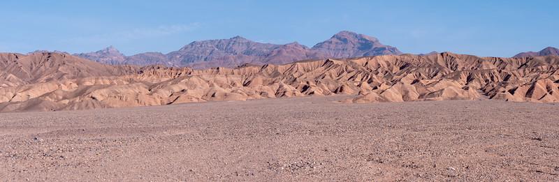 Textured Landscape Death Valley