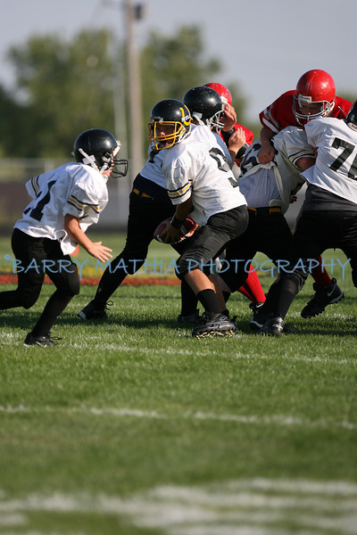Lawson Football vs Lathrop 7th grade 07