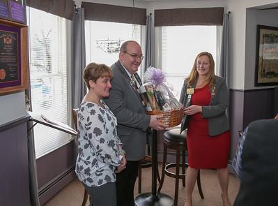 NYS Elks President visits Kingston Lodge 550