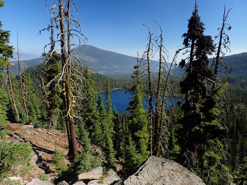 Aspen Butte Mountain Lakes Wilderness Oregon