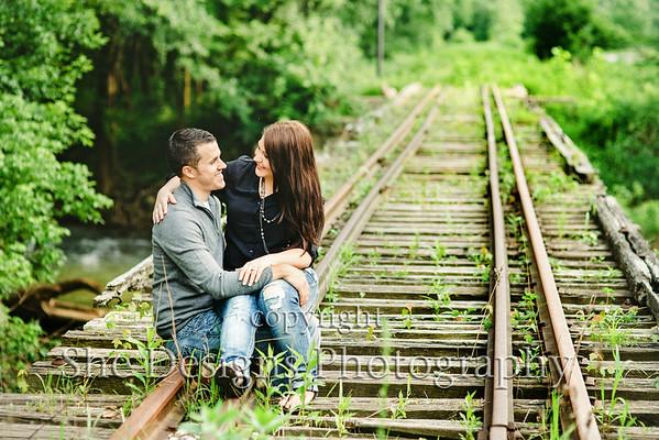 Brandon and Heather