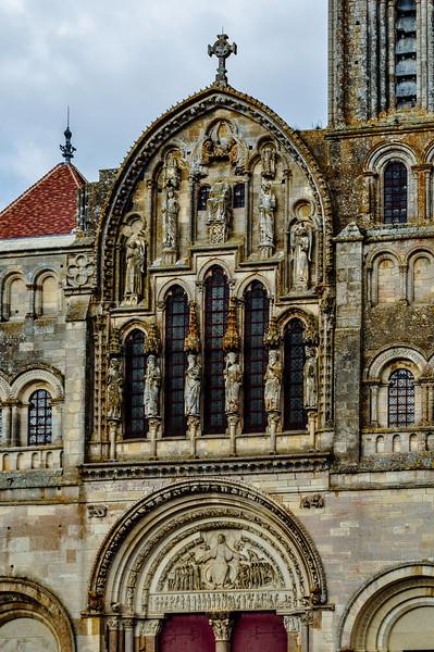 Bourgogne, France - Abbaye de Vézelay