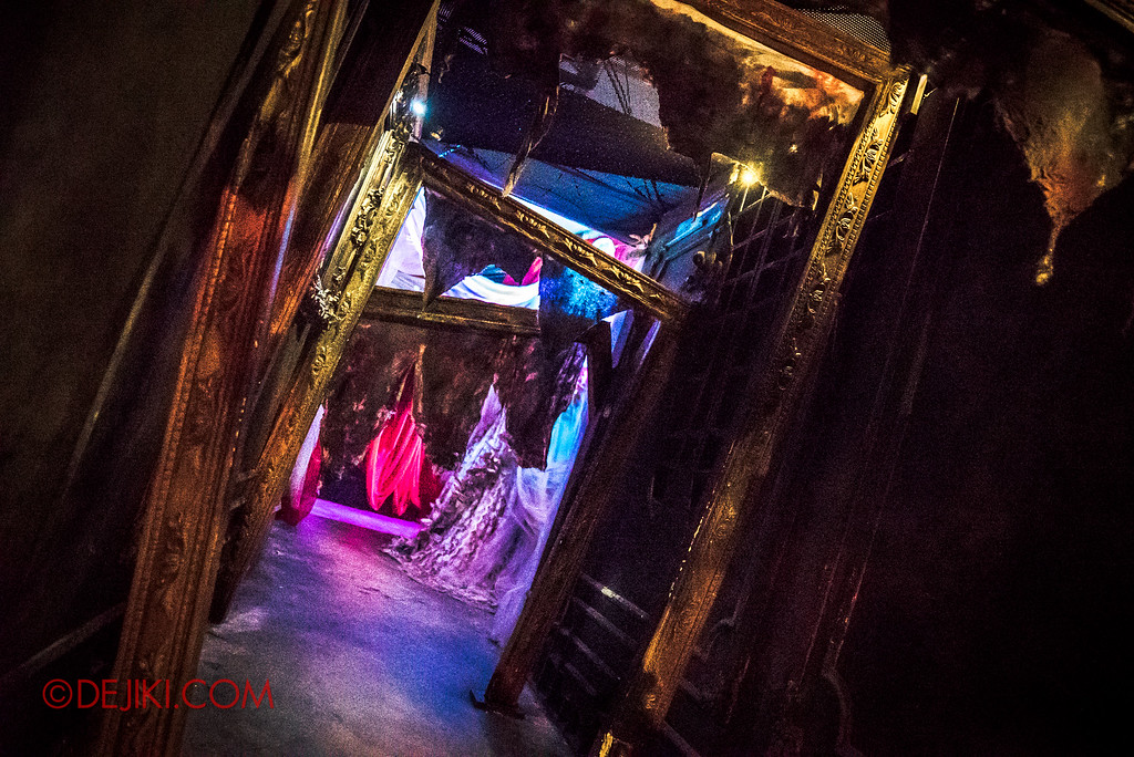 Halloween Horror Nights 6 Final Weekend - Bodies of Work revisited / Hallway of Fatal Frames